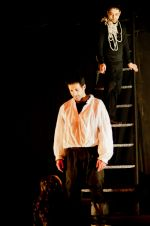 "Picture of the demon with Don Juan in ""The Guest"" by Arlekin Players Theatre"