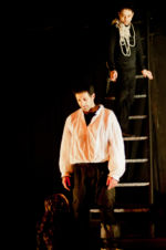 """Picture of the demon with Don Juan in """"The Guest"""" by Arlekin Players Theatre"""